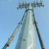 132kv High Voltage Power Transmission Tower 110kv 132 Kv 220kv 550kv Steel Pole