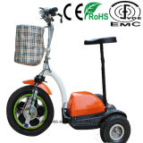 3 Wheel Electric Scooter with 500W Brushless Motor for Elder