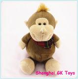 Smiling Monkey Plush Toy Sitting Monkey