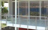 Glass Balustrade Designed for Apartment Project