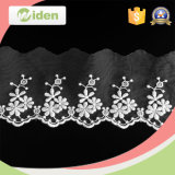Free Sample Lace Pattern Appliques Wholesale Embroidered Tulle Lace