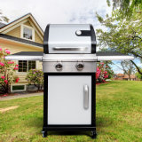 Portable Outdoor 2 Burner Gas BBQ Grill with Ce CSA