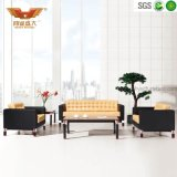 Leather Office Set Designs Sofa with Wooden Legs HY-S1018 (1+1+3)