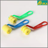 3PCS Plastic Handle Foam Paint Roller Set for Children