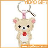Custom Genuine Leather Key Chain for Gifts (YB-LK-06)