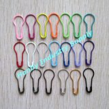 22mm Colored Pear Shaped Safety Pin for Hang Tags (P160125F)