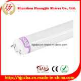 100lm/W 1.2m 18W T8 LED Tube Light Replace Fluorescent Tube