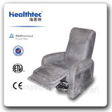 Taupe Leather Recliner Elder Lift Chair (D05)