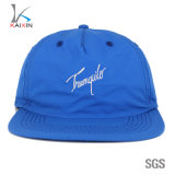 5 Panel Unstructured Snapback Nylon Hat with Embroidery