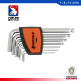 Long Arm Ball End Hex Key Wrench Set 9-Piece Made of Top Quality Alloy Steel