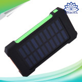 Solar Power Bank Dual USB Travel Power Bank 20000mAh External Battery Portable Charger Bateria Externa Pack for Mobile Phone