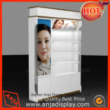 Wooden Powder Coating Cosmetic Display Cabinet