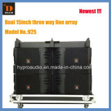 Hot Sale Model! ! Double 15inch Three Way Line Array Vtx Series V25