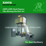 Plastic HDPE-LDPE Dual-Purpose Film Blowing Machine Set