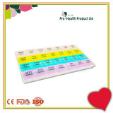 Transparent Plastic 4 Weeks Pill Box 28 Case