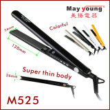 2017 Hot Sell Super Thin Plate Wholesale Hair Flat Iron Hair Straightener