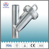 Sanitary Stainless Steel Welded Y Type Strainer (ISO-No. NM100107)