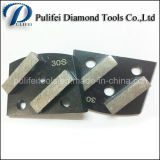 Square Metal Segment Terrazzo Floor Grinding Disc for Concrete Surface Wet or Dry Grinding