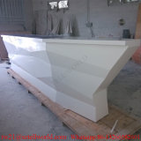 Artificial Stone Boat Shaped Night Club Furniture LED Lighting Bar Counter Deisgn for Sale Boat Bar Furniture