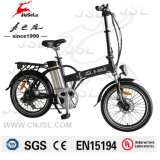 "Foldable Portable 20"" 36V Lithium Battery Black Bicycle TUV (JSL039X-3)"