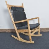 Wooden Patio Furniture Leisure Chaise Lounge Rocking Chair for Bedroom