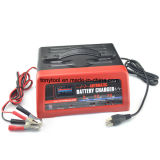 12V 2/12A Trickle Battery Charger for Motorcycles, Boats, Cars, Rvs