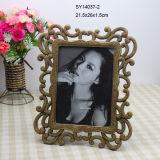 """Resin Photo Frame - Gold 5""""*7"""""""