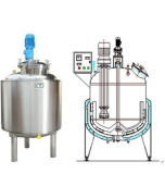 Shanghai Stainless Steel Mixing Tank Price for Food Industry