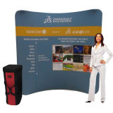 Advertising Display Pop up Fabric Photo Booth Backdrop (LT-24)