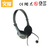 Hz-404 Top Sale Cheapest Portable Stereo Computer Headset with Microphone