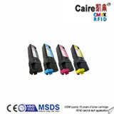 106r01456 106r01458 106r01457 Compatible for Xerox Phaser 6128 Colored Toner Cartridge 2500 Page