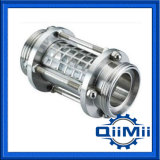 Sanitary Sight Glass Stainless with Protective Cover