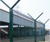 PVC Coated V Pressed Welded Wire Mesh Fence, Panel