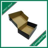 Custom Hot Sale Black Matt Shipping Box Wholesale