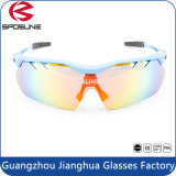 Outdoor Sports Sunglasses with Tr90 Frame PC Lens