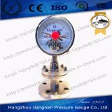 Full Stainless Steel Electric Contact Pressure Gauge