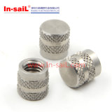 Stainless Steel Zinc Plating Knurled Insert Nut