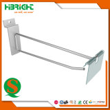 Single Prong Back Bar Hook with Overarm and Price Flap