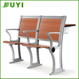 Jy-U205 Wooden Seats with Metal Frame Students Chairs Sets College