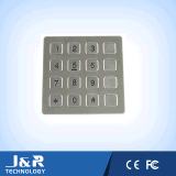 Stainless Steel Keypad with 12 Keys, Watherproof Keyboard, Metal Keypad