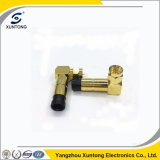 F Right Angle RG6 Cable Waterproof Connector