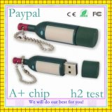 Hot Sell Wine Bottle USB Flash Drive (GC-W019)