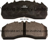 Heavy Duty Disc Brake Pad D1708-8931/29174/29204/29218/29219/29226/29273/29334