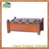 Rectangular WPC Flowerpot for Outdoor Garden Decoration (EB-82955)