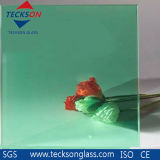 4mm Light Green Tinted Float Glass with High Quality