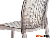 Acrylic Outdoor Patio Furniture Stackable Chair