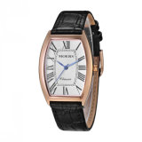 DIY Fashion Genuine Leather 316L Stainless Steel Promotion Watch Lady