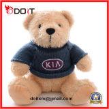 Custom Logo Stuffed Teddy Bear with T Shirt