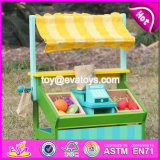 New Design Funny Fruit Play Set Wooden Kids Supermarket W10A060