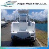 Factory Supply 6.25m Aluminum Personal Pleasure Fishing Boat